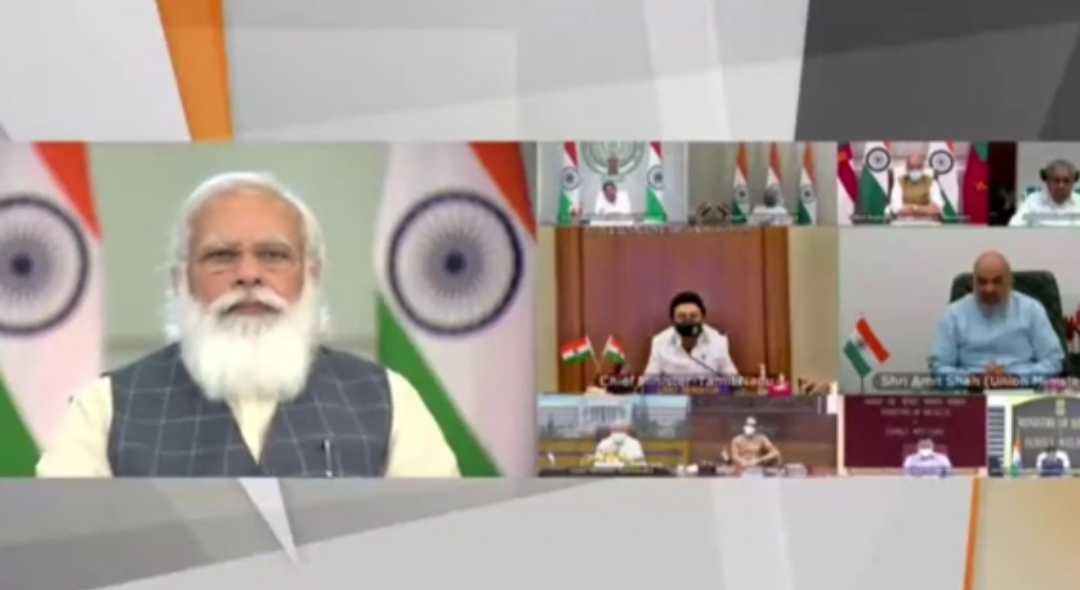 Corona is not over, pictures of post unlocking behaviour worrisome: PM Modi