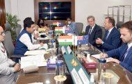 Australian delegation calls onUnion Minister  Pralhad Joshi...