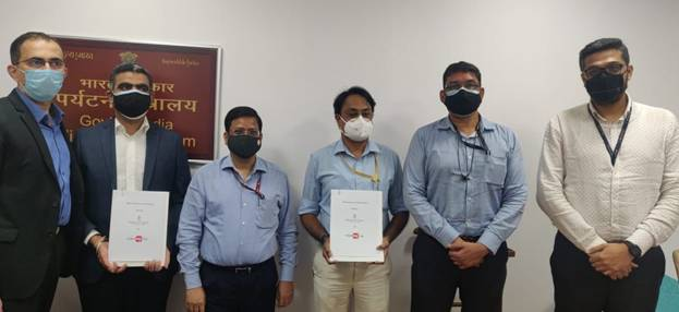 Ministry of Tourism Signs MOUs with MakeMyTrip(India) Private Limited and Ibibo Group Private Limited to strengthen hospitality and tourism industry in the country especially in pandemic times...